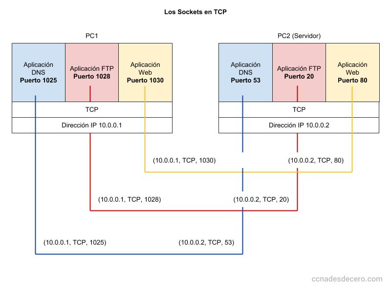 Sockets en TCP